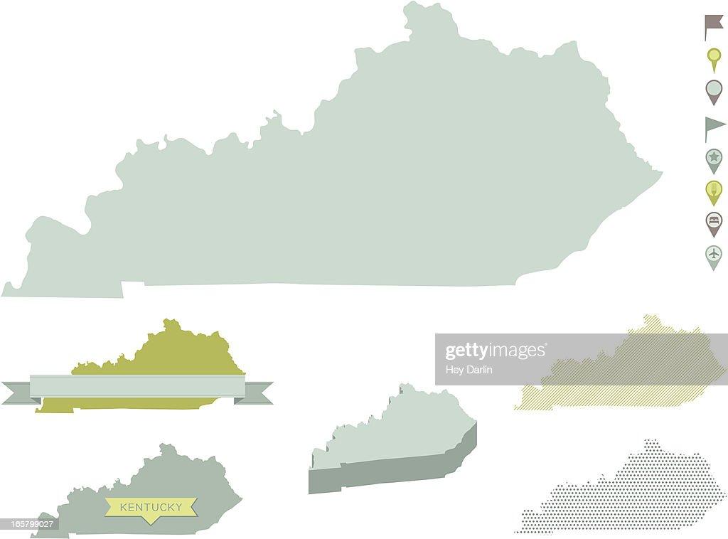 Kentucky State Maps