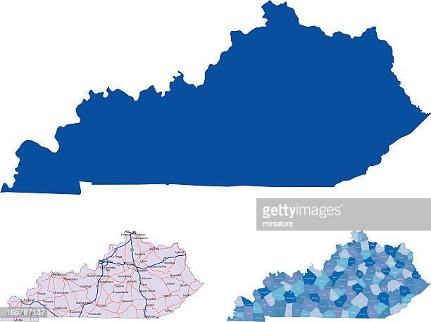 ケンタッキー - ケンタッキー州点のイラスト素材/クリップアート素材/マンガ素材/アイコン素材