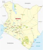 Kenya road map