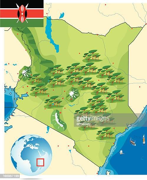 ilustraciones, imágenes clip art, dibujos animados e iconos de stock de kenia - masai