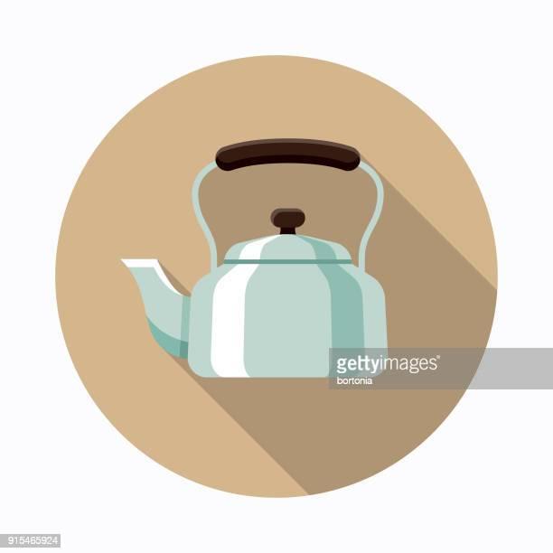 Kettle Flat Design Coffee & Tea Icon
