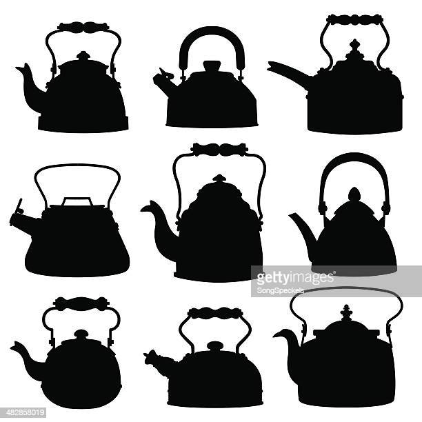 Kettle Silhouettes