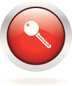 Key icon red button