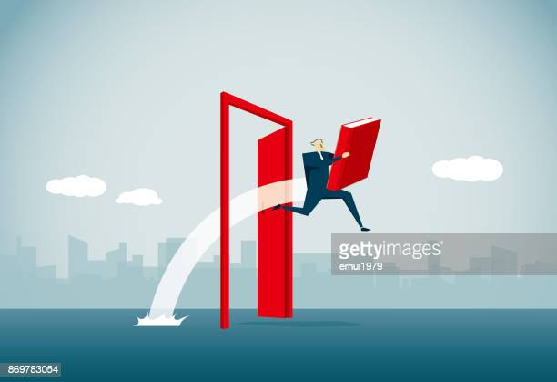 key to success - door frame stock illustrations, clip art, cartoons, & icons