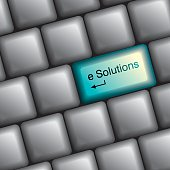keyboard with solution key