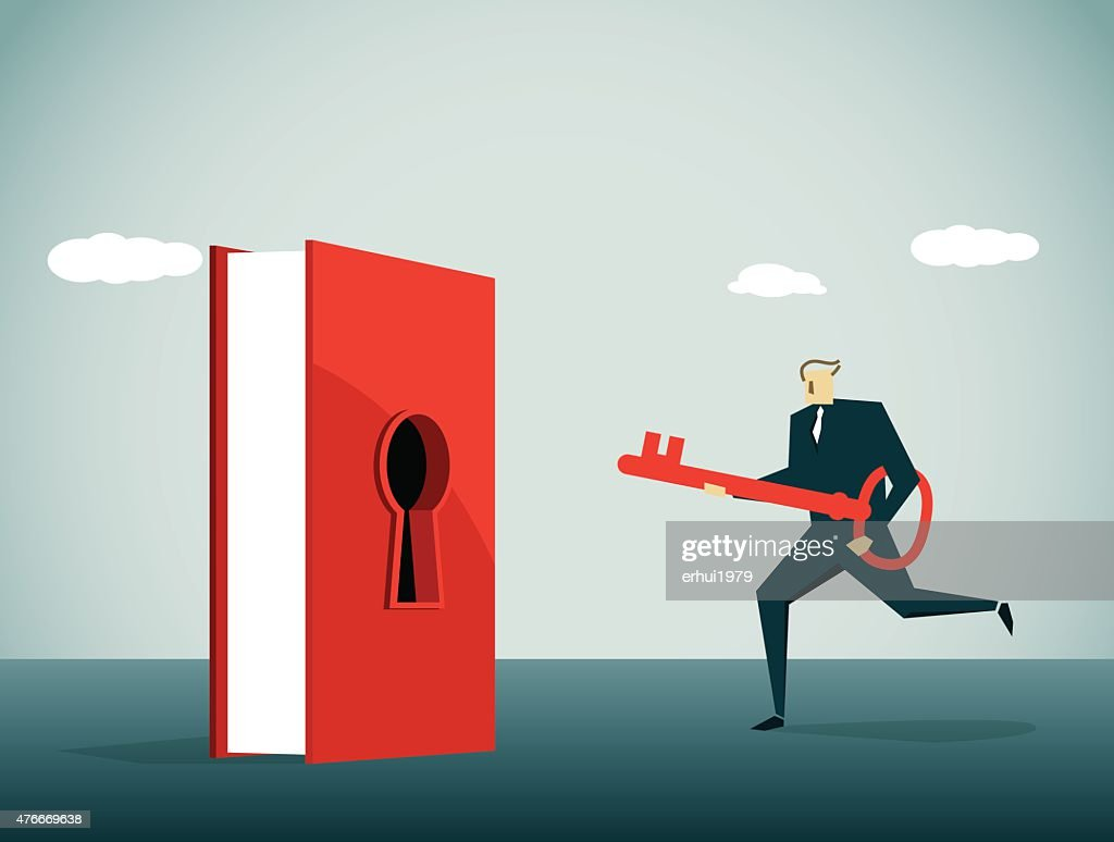 Keyhole : Stock Illustration