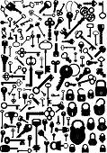 Keys and Padlocks