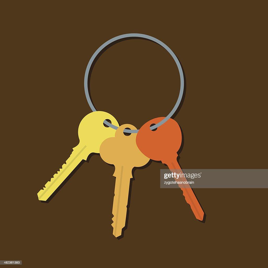 Keys In A Bunch