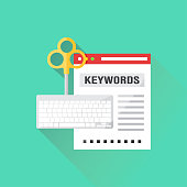 Keywords Flat Icon