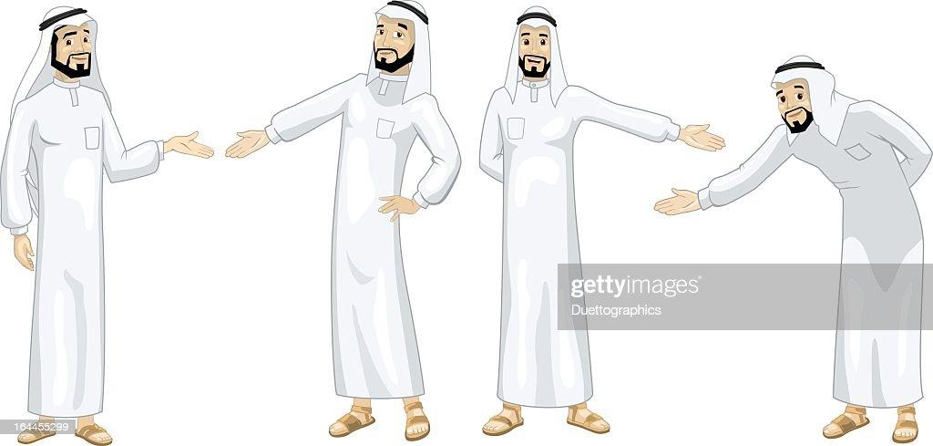Khaliji Welcoming Men