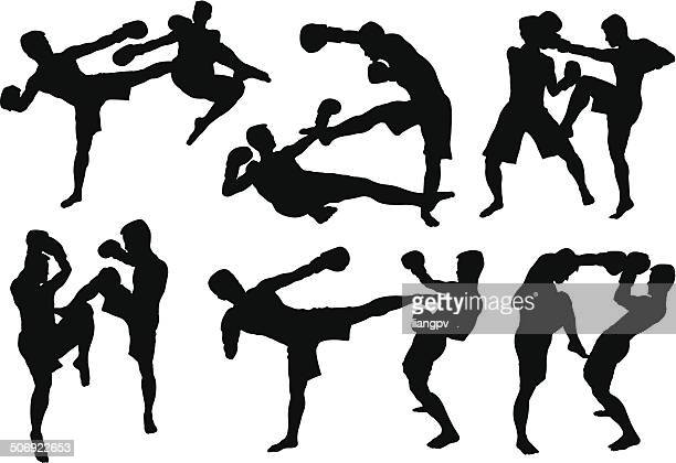Muay Thai Stock Illustrations Getty Images