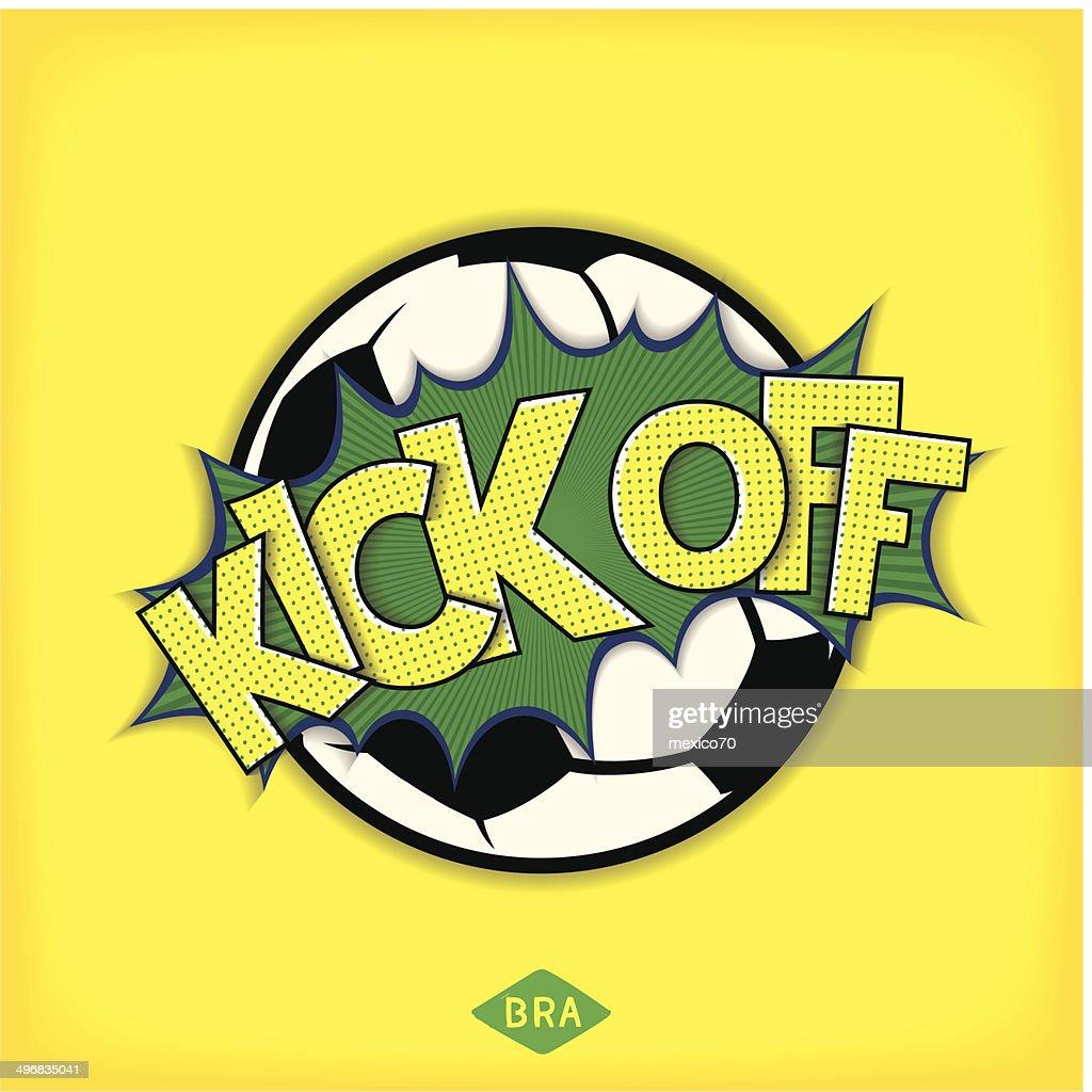 Kick off football match