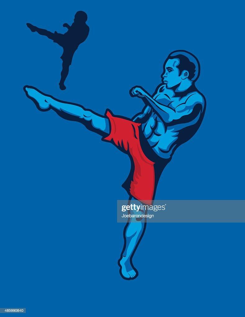 MMA Kickboxer