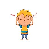Kid headache