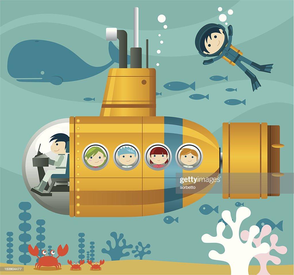 Kids and Yellow Submarine