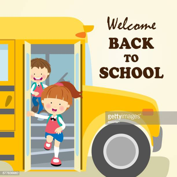 kids back to school - school uniform stock illustrations, clip art, cartoons, & icons