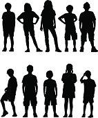 Kids Facing Front