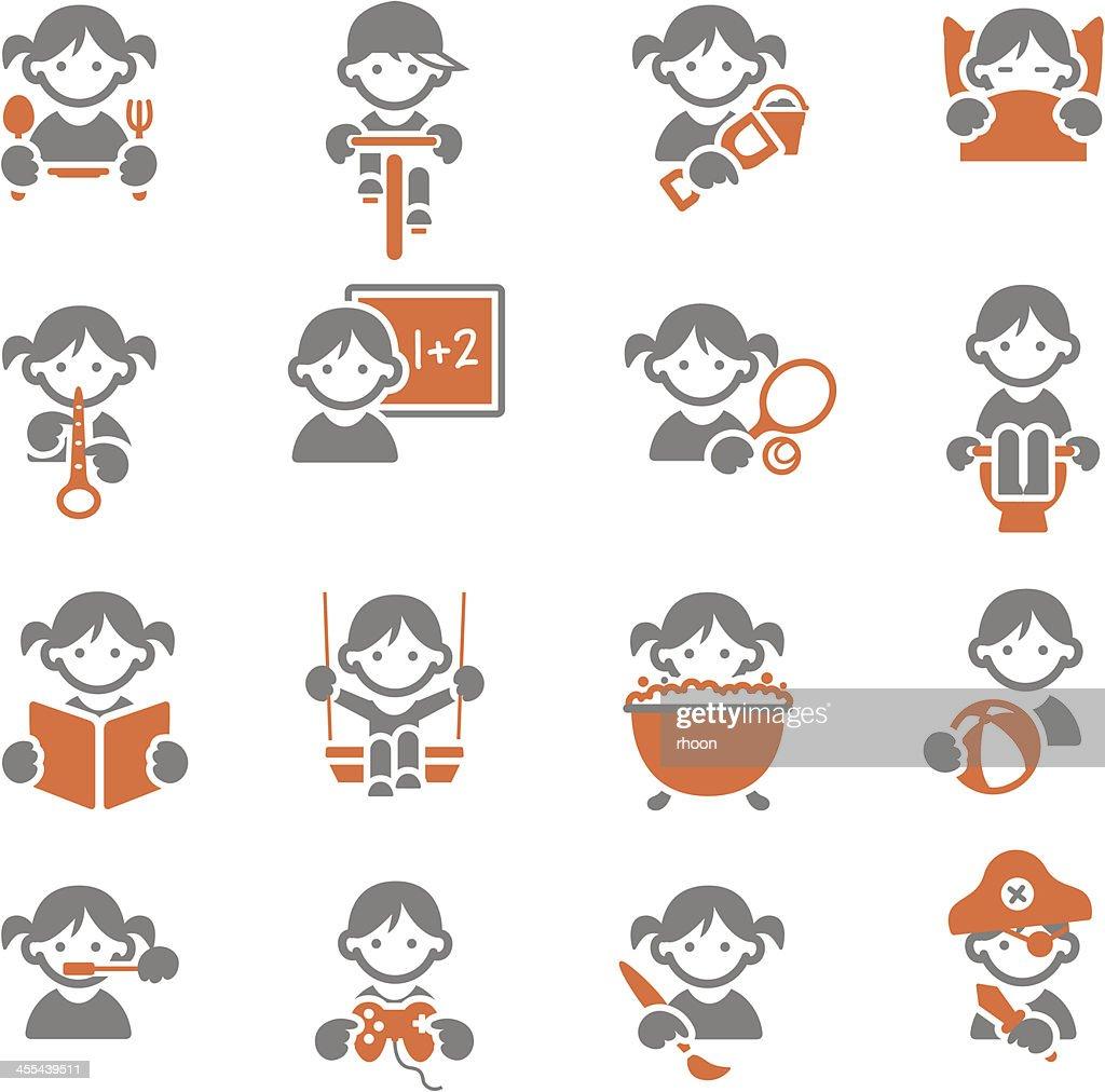 Kids icons