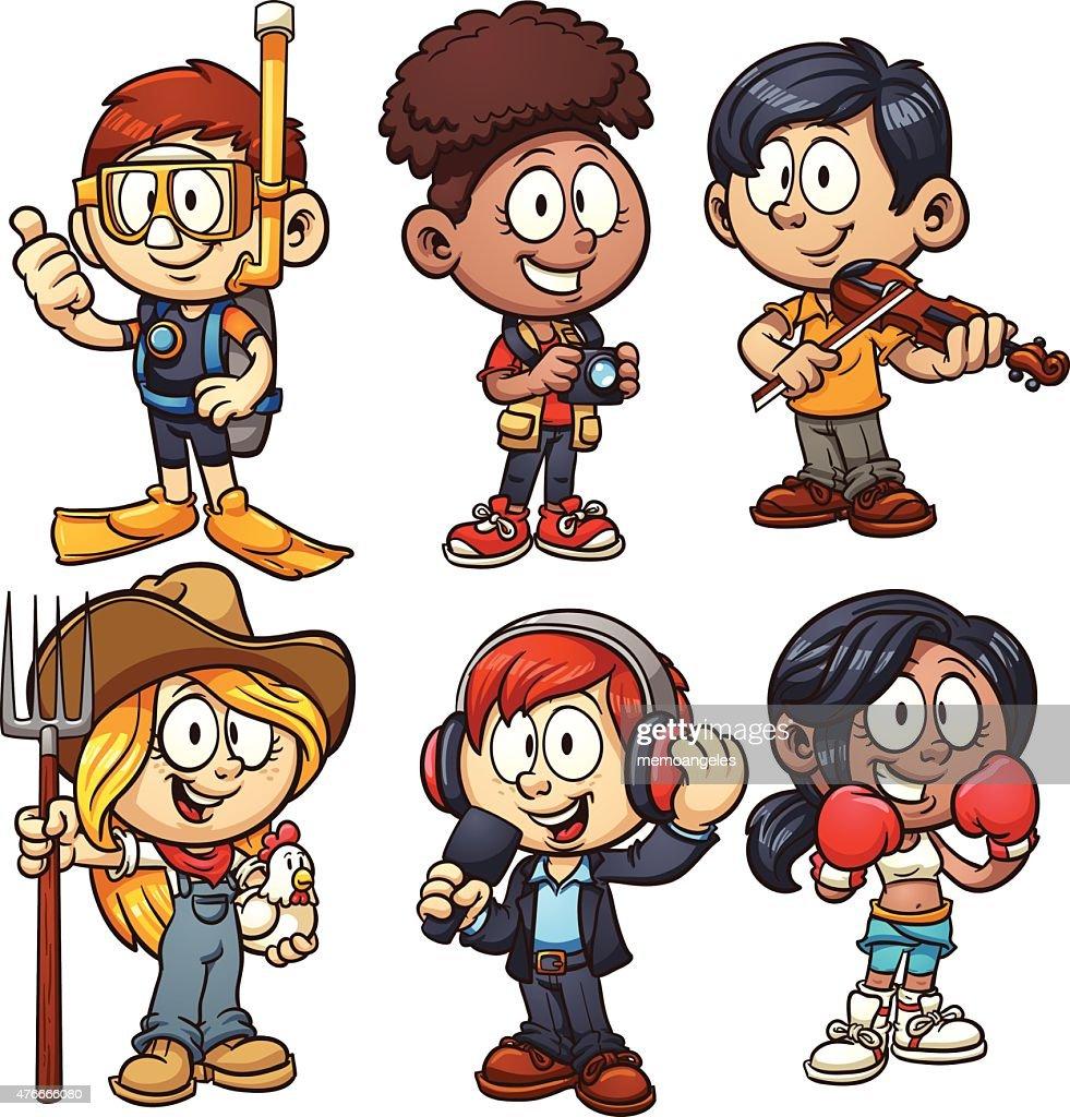 Kids occupations