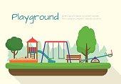 Kids playground set.