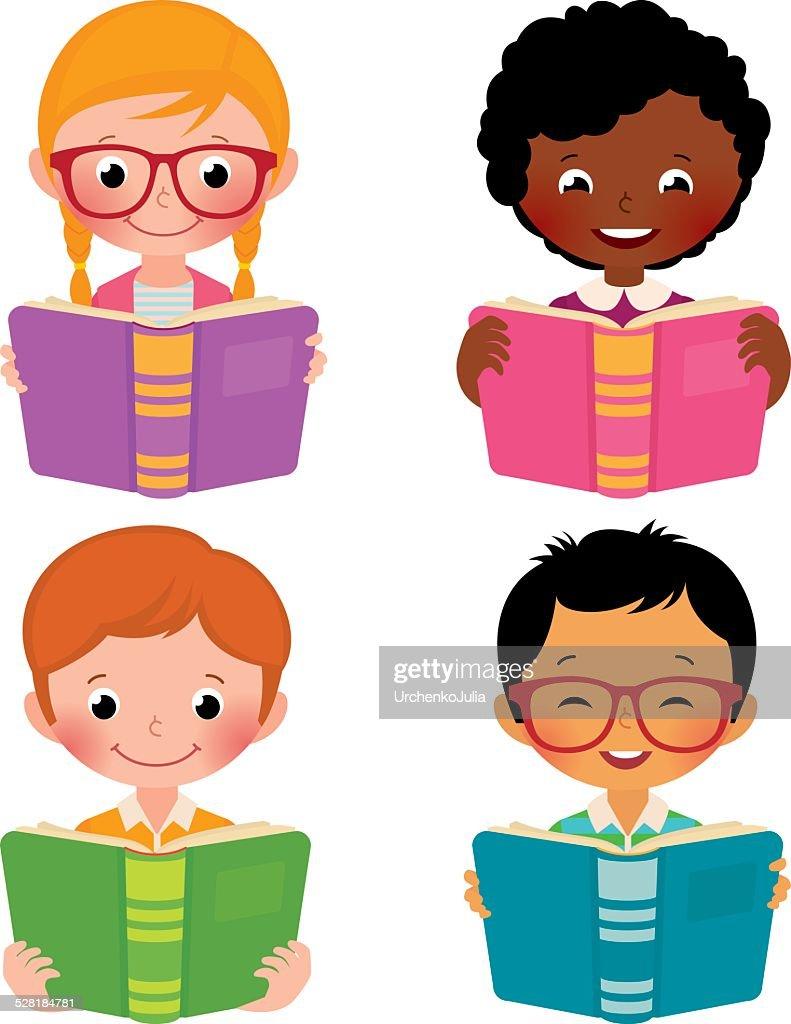 Kids read books