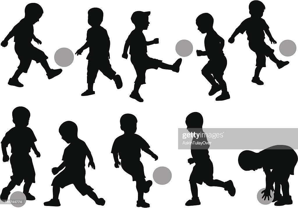 Kids' Soccer : stock illustration