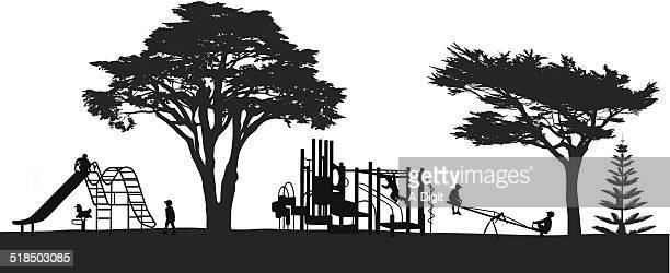kidspark - cypress tree stock illustrations