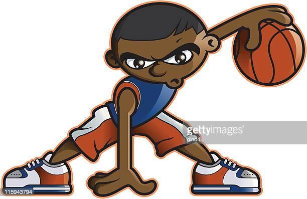 ilustraciones, imágenes clip art, dibujos animados e iconos de stock de killer del cruzamiento - jugadordebaloncesto