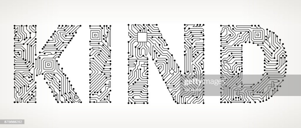 Kind Circuit Board Vector Buttons Vector Art | Getty Images