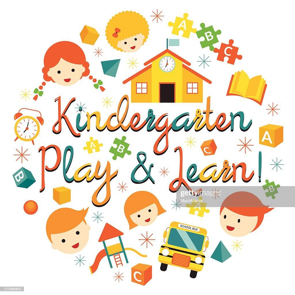 Kindergarten, Preschool, Kids Heading