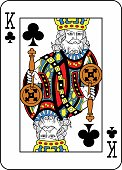 King of Clubs French Version