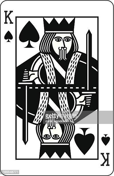 King of Spades Black