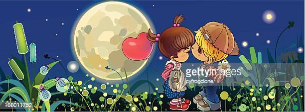 Küssen im Nacht