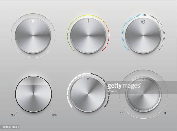 UI kit – metal knobs