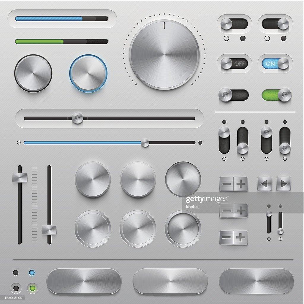 UI kit - metal