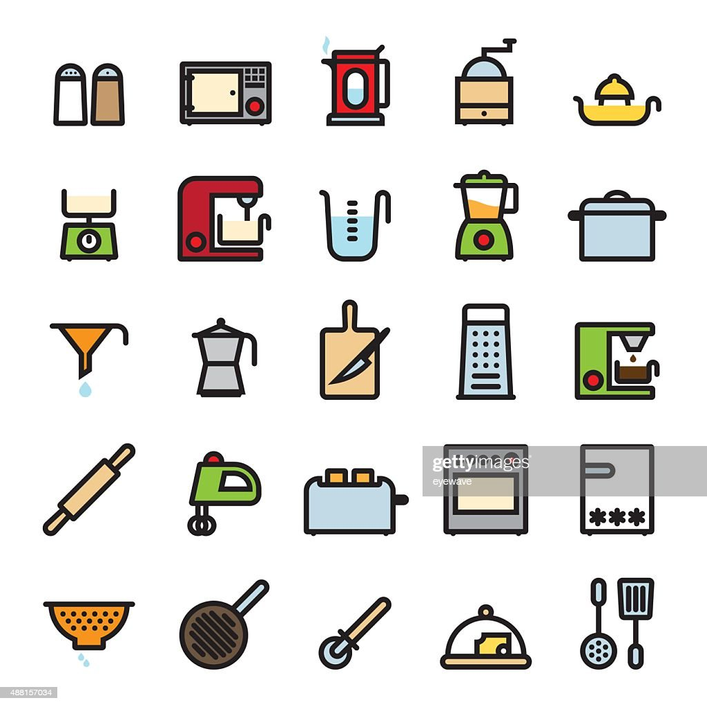 Kitchen and Cooking Icons Collection