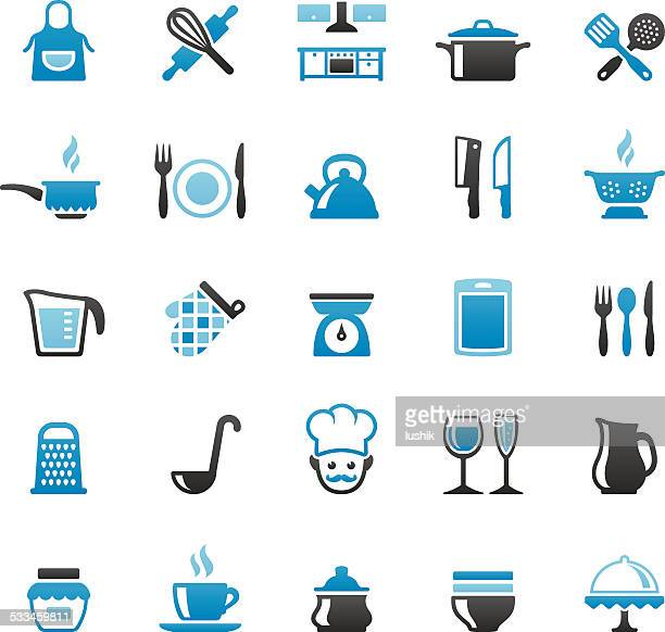 kitchen and cooking - kitchen scale stock illustrations, clip art, cartoons, & icons
