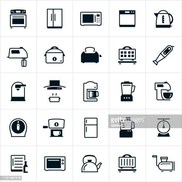 Kitchen Appliances Icons