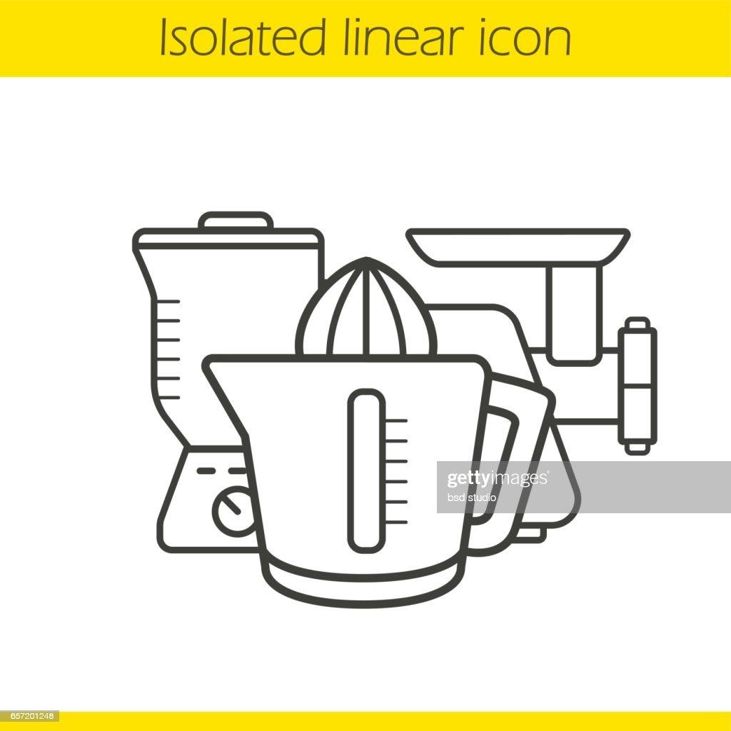 Kitchen electronics icon