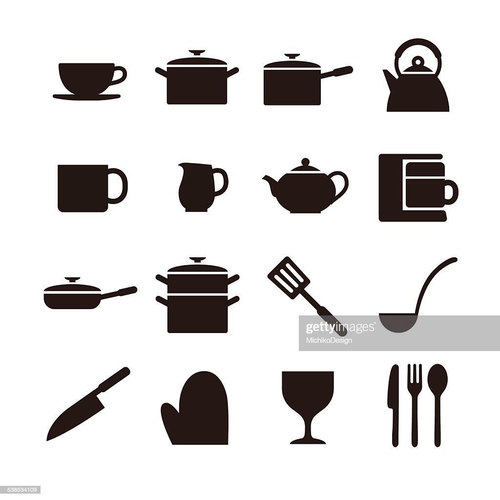 Kitchen elements icon