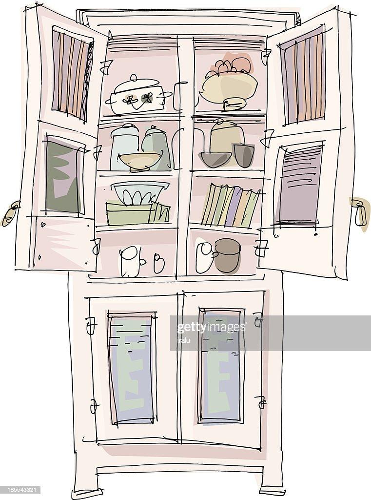 kitchen furniture - cartoon