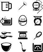 Kitchen Measurement icon Set