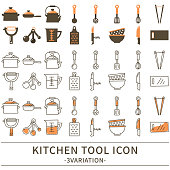 Kitchen tool icon
