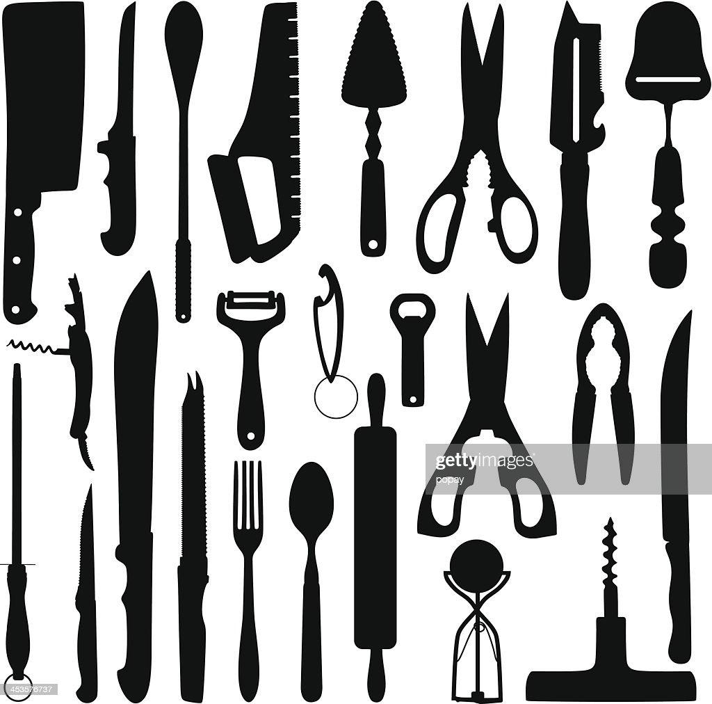 Kitchen tools - Illustration