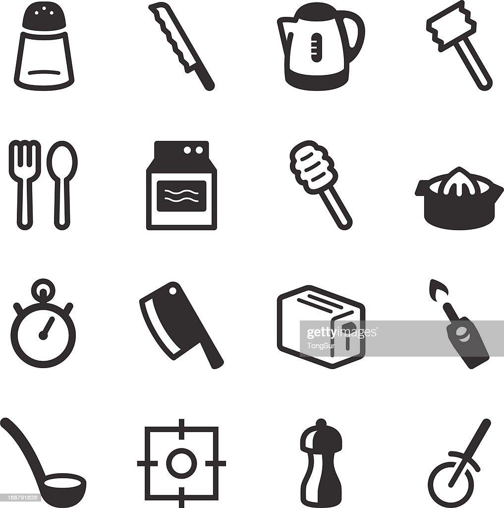 Kitchen Utensils Icons   set 2