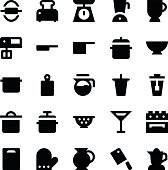 Kitchen Utensils Vector Icons 4