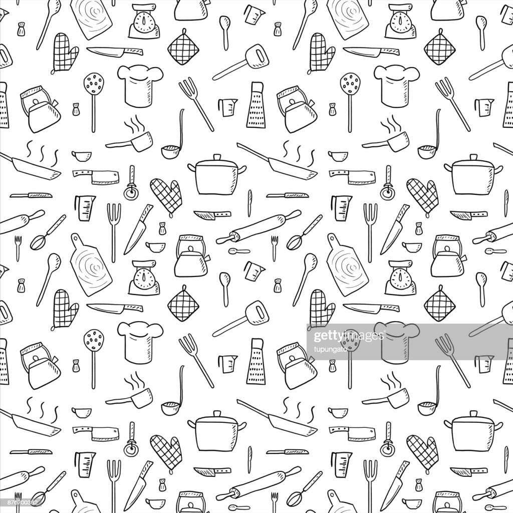 Kitchenware background
