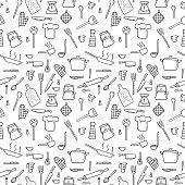 Kitchenware background