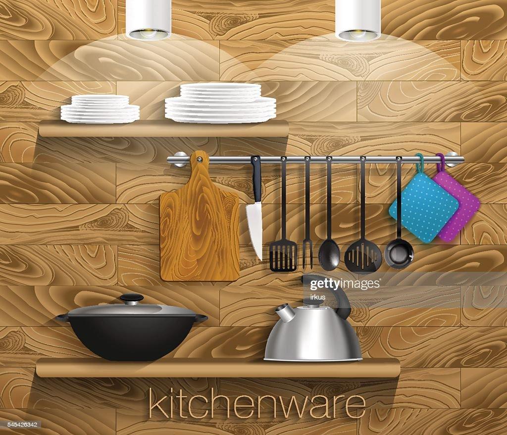 kitchenware_wooden_wall