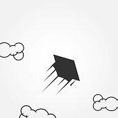 Kites Vector Template Design Illustration